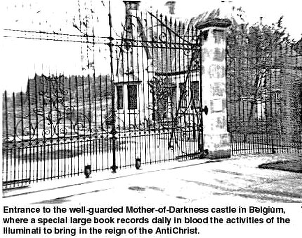 Mother of Darkness Castle Gates